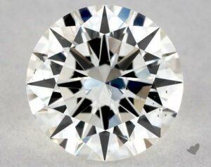 0.70 CARAT I-SI1 EXCELLENT CUT ROUND DIAMOND