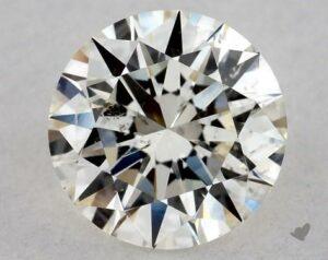 0.70 CARAT J-I1 EXCELLENT CUT ROUND DIAMOND
