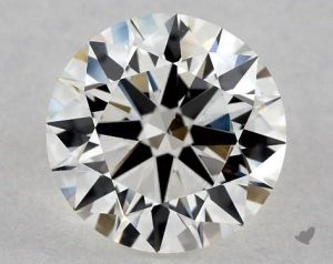 1.29 CARAT I-VS2 EXCELLENT CUT ROUND DIAMOND