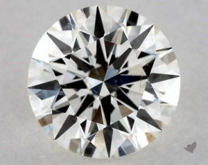 0.73 CARAT I-SI1 EXCELLENT CUT ROUND DIAMOND
