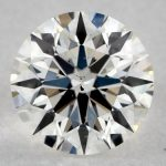0.81 CARAT H-SI1 IDEAL CUT ROUND DIAMOND