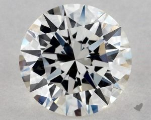 0.96 CARAT H-VS1 EXCELLENT CUT ROUND DIAMOND