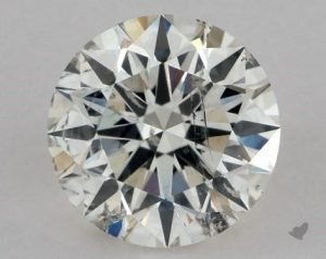 1.16 CARAT I-SI2 EXCELLENT CUT ROUND DIAMOND