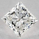 1.20 CARAT G-VS2 IDEAL CUT PRINCESS DIAMOND