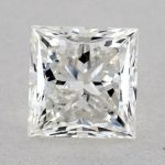 1.33 CARAT H-VS2 IDEAL CUT PRINCESS DIAMOND