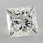 1.50 CARAT G-SI1 IDEAL CUT PRINCESS DIAMOND