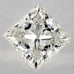 1.70 CARAT I-SI1 IDEAL CUT PRINCESS DIAMOND