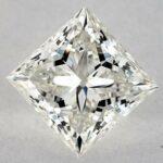 1.70 CARAT I-SI1 IDEAL CUT PRINCESS DIAMOND