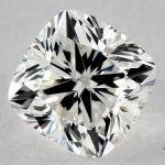 1.71 CARAT H-SI2 CUSHION MODIFIED CUT DIAMOND