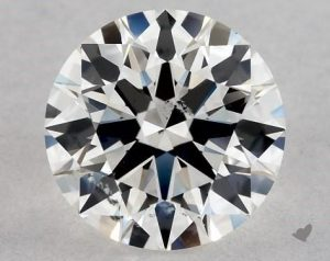 0.80 CARAT H-SI2 EXCELLENT CUT ROUND DIAMOND