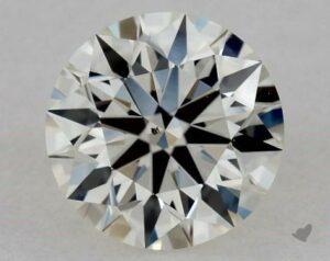 1.00 CARAT I-VS2 TRUE HEARTSTM IDEAL DIAMOND