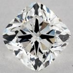 1.41 CARAT G-SI1 CUSHION MODIFIED CUT DIAMOND