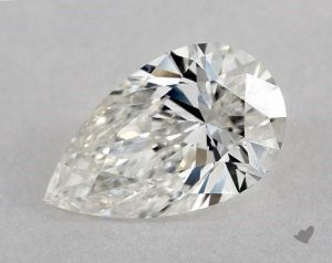 1.50 CARAT H-SI1 PEAR SHAPE DIAMOND