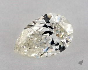 2.01 CARAT I-VS1 PEAR SHAPE DIAMOND