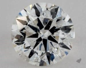 0.60 CARAT H-SI2 VERY GOOD CUT ROUND DIAMOND