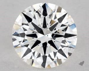 1.06 CARAT H-SI1 EXCELLENT CUT ROUND DIAMOND