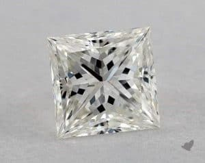 1.06 CARAT I-SI2 IDEAL CUT PRINCESS DIAMOND