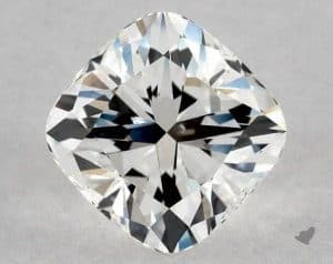 1.20 CARAT G-SI1 CUSHION MODIFIED CUT DIAMOND