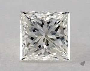 1.53 CARAT I-VS2 GOOD CUT PRINCESS DIAMOND
