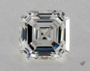 1.21 CARAT H-VS2 SQUARE EMERALD CUT DIAMOND