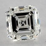 1.80 CARAT H-VS2 ASSCHER CUT DIAMOND