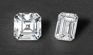 Step cut diamonds
