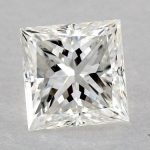 0.51 CARAT H-VS2 IDEAL CUT PRINCESS DIAMOND