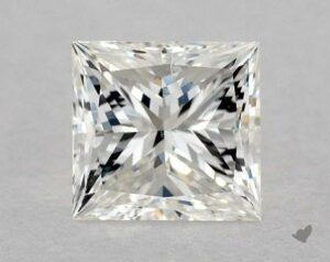 1.10 CARAT H-SI1 VERY GOOD CUT PRINCESS DIAMOND