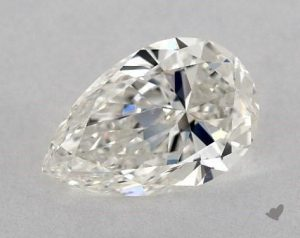 1.50 CARAT H-VS2 PEAR SHAPE DIAMOND