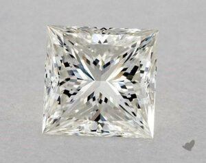 1.30 CARAT H-VS2 IDEAL CUT PRINCESS DIAMOND