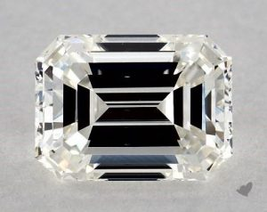 1.35 CARAT G-VS1 EMERALD CUT DIAMOND