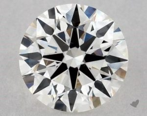 1.15 CARAT H-VS2 EXCELLENT CUT ROUND DIAMOND