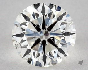 1.30 CARAT H-SI2 VERY GOOD CUT ROUND DIAMOND
