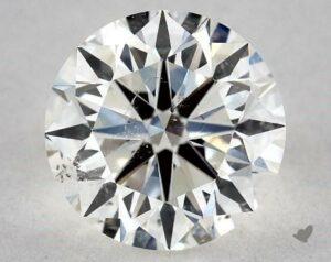 1.30 CARAT H-SI2 VERY GOOD CUT ROUND DIAMOND