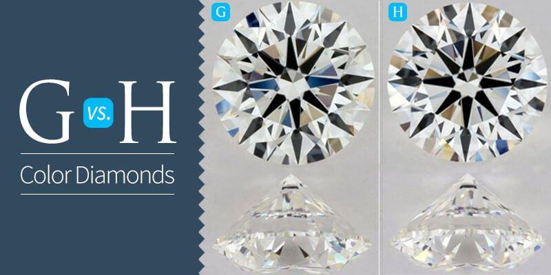 G vs H Color Diamonds