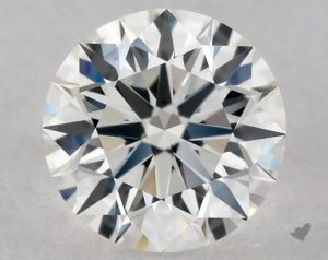 0.80 CARAT F-VS1 EXCELLENT CUT ROUND DIAMOND