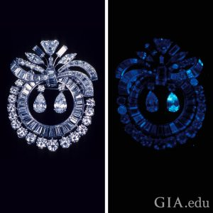 Diamond Fluorescence UV