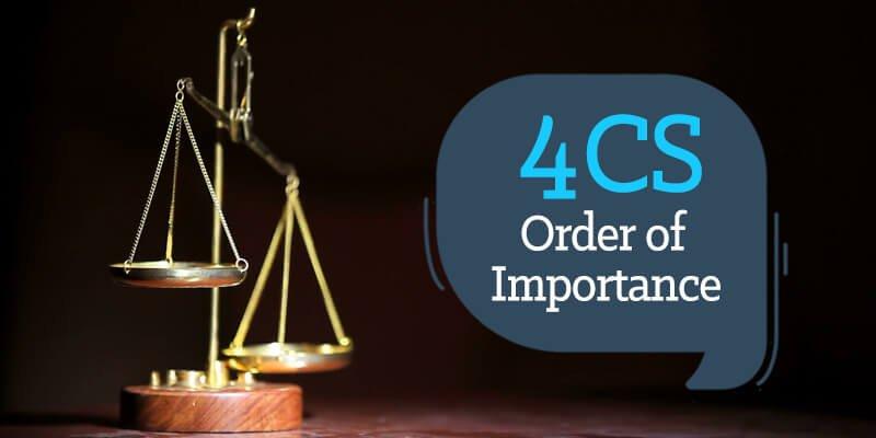 4cs order of importance