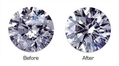 Enhanced Diamond before & after