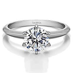 Lab Created Diamond Ring