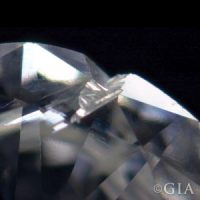 Cavity Inclusion in diamond