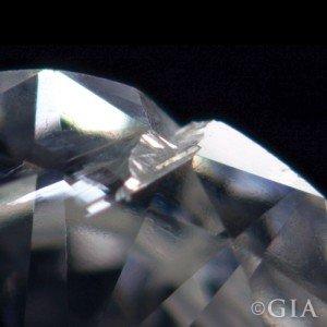 Cavity Inclusion in diamond