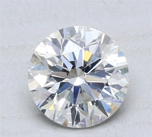 Diamond with a lot of inclusions on Blue Nile