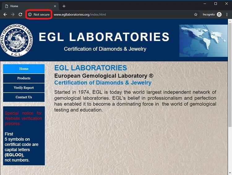 EGL Website