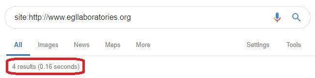 Screenshot Google about EGL