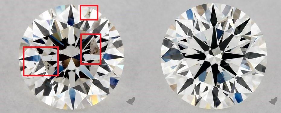 Two SI1 diamonds