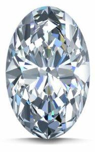 Oval shape Diamond
