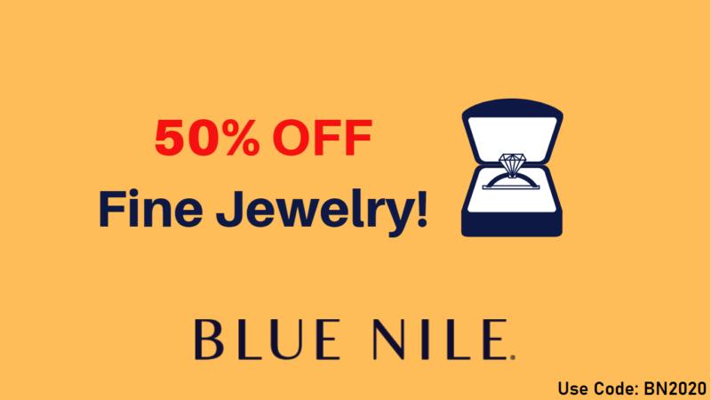 Blue Nile 50%